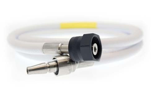 Hose Assembly - O2 - 1m - NIST to BS5682 Probe