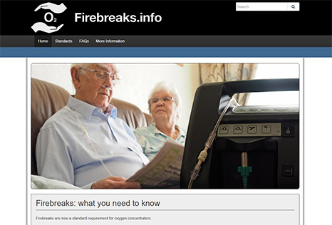 Firebreaks website image