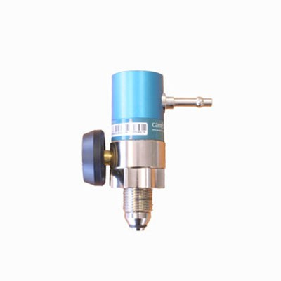 "Pressure Regulator - O2 - UK Bullnose/1/4"" Hose Outlet"