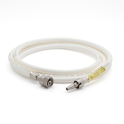 Hose Assembly - O2 - 3m - NIST to BS5682 Probe