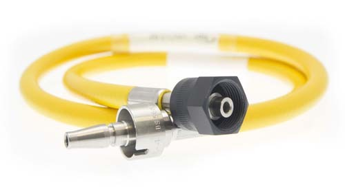 Hose Assembly - Vac - 3m - NIST to BS5682 Probe