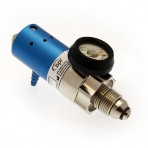 Dialflow Regulator - O2 - Range A - UK Bullnose/Barb